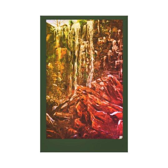Queen Mary Falls Canvas Print