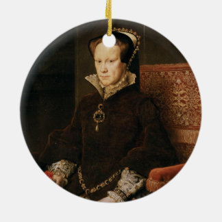 Queen Mary I of England Maria Tudor by Antonis Mor Ceramic Ornament
