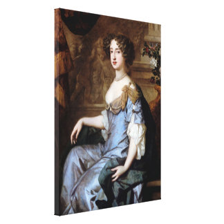 Queen Mary II by Sir Peter Lely Canvas Print