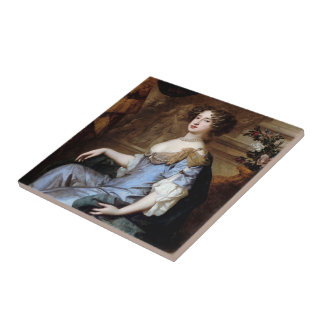Queen Mary II by Sir Peter Lely Tile