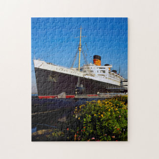 Queen Mary Liner California. Jigsaw Puzzle