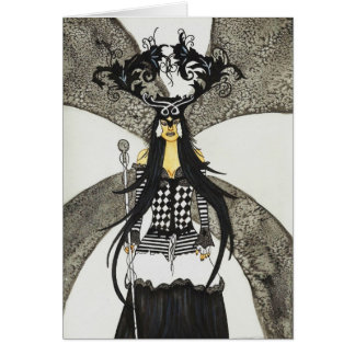 Queen Masquerade Notecard