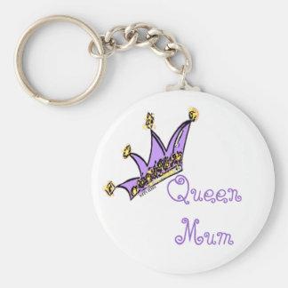 Queen Mum Keychain