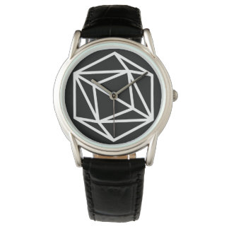 Queen (n) / Custom Classic Black Leather Watch
