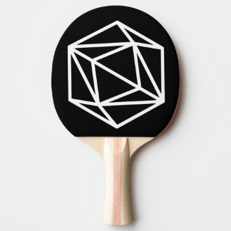 Queen (negative) / Ping Pong Paddle