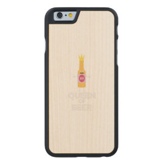 Queen of Beer Zh80k Carved Maple iPhone 6 Case