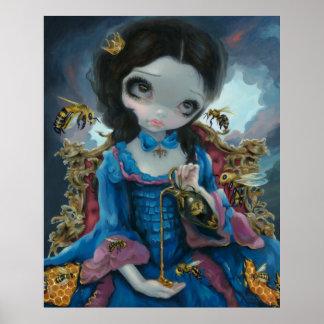 Queen of Bees ART PRINT Rococo Pop Surrealism