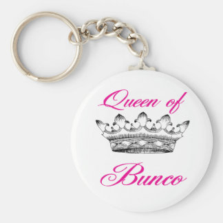 queen of bunco keychain
