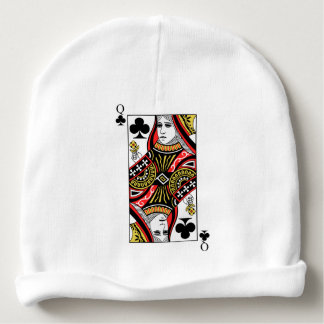 Queen of Clubs Baby Beanie