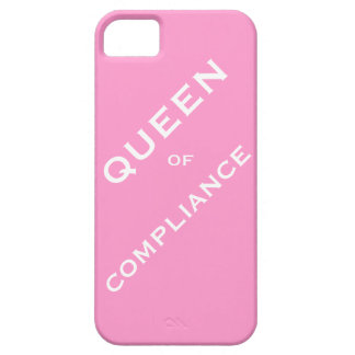 Queen of Compliance Woman Compliance Officer Case For The iPhone 5