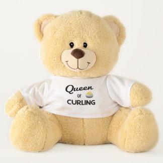 Queen of Curling Teddy Bear