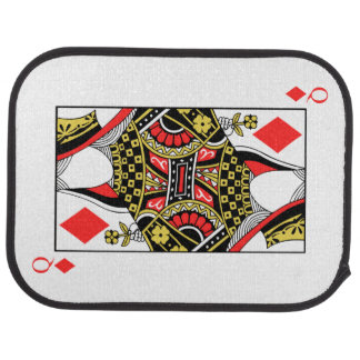 Queen of Diamonds - Add Your Image Car Mat