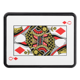 Queen of Diamonds - Add Your Image Trailer Hitch Cover