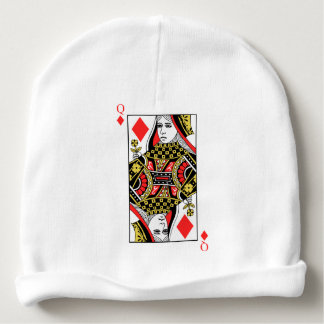 Queen of Diamonds Baby Beanie