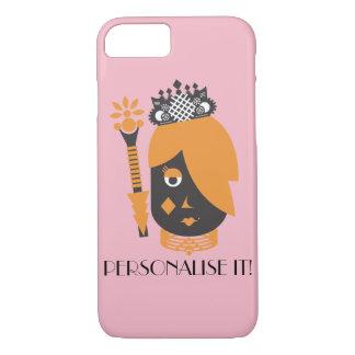 Queen of Diamonds iPhone 8/7 Case