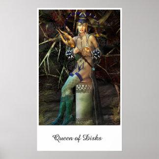 Queen of Disks Poster