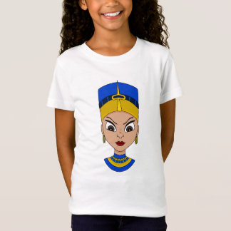 Queen of Egypt cartoon T-shirt