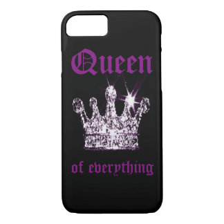 Queen of Everything Apple iPhone 7, Phone Case