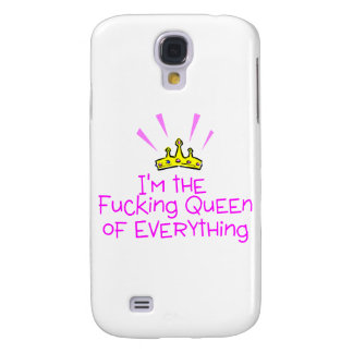 Queen of Everything Galaxy S4 Cover