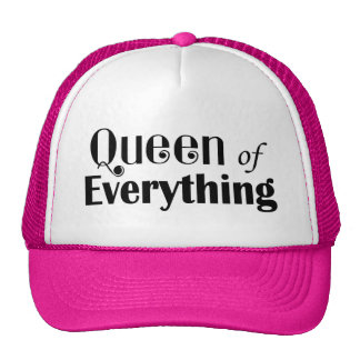 Queen of Everything Girly Trucker Hat