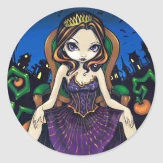 """Queen of Halloween"" Sticker"