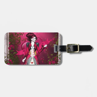 Queen of Heart Bag Tag