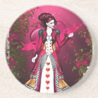 Queen of Heart Coasters