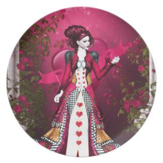 Queen of Heart Dinner Plate