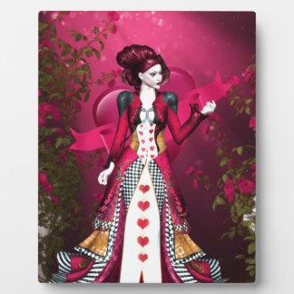 Queen of Heart Display Plaque