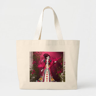 Queen of Heart Large Tote Bag