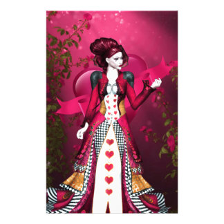 Queen of Heart Stationery