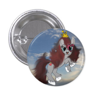 Queen of Hearts 1 Inch Round Button