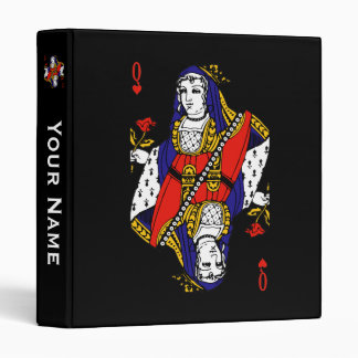 Queen of Hearts 3 Ring Binders