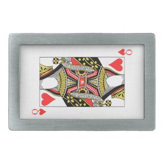 Queen of Hearts - Add Your Image Belt Buckles