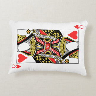 Queen of Hearts - Add Your Image Decorative Pillow