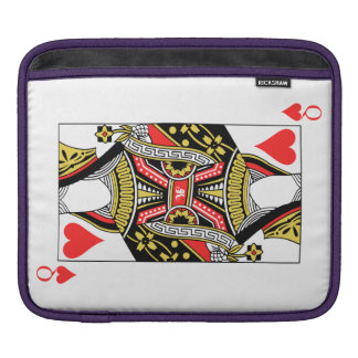 Queen of Hearts - Add Your Image iPad Sleeve