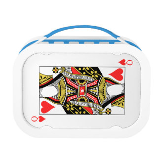 Queen of Hearts - Add Your Image Lunch Box