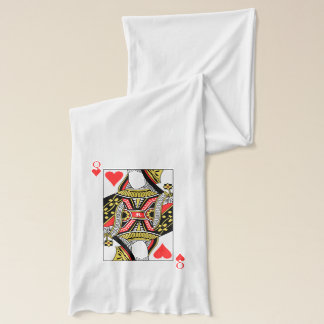 Queen of Hearts - Add Your Image Scarf Wrap