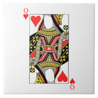Queen of Hearts - Add Your Image Tile