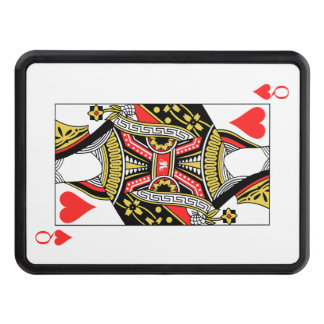 Queen of Hearts - Add Your Image Trailer Hitch Cover