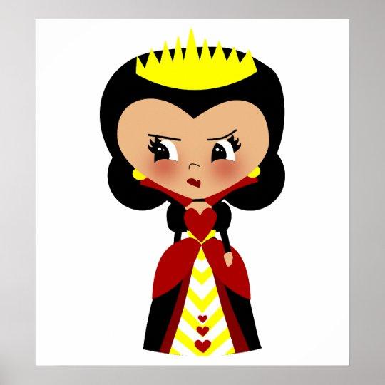 Queen of Hearts - Alice's Adventures in Wonderland Poster