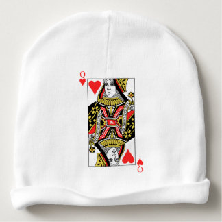 Queen of Hearts Baby Beanie