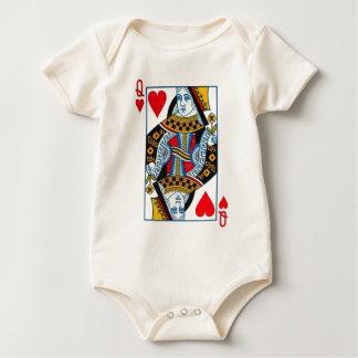 queen of hearts baby bodysuit