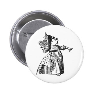 Queen of Hearts 2 Inch Round Button