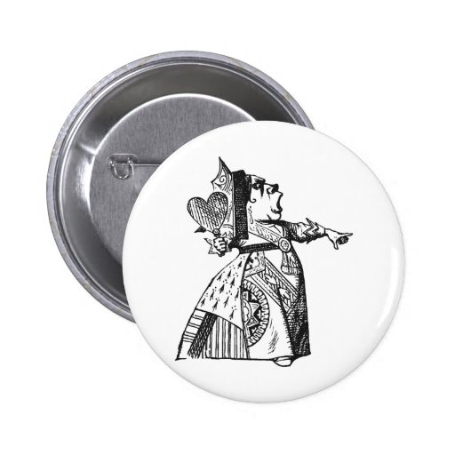 Queen of Hearts Pin