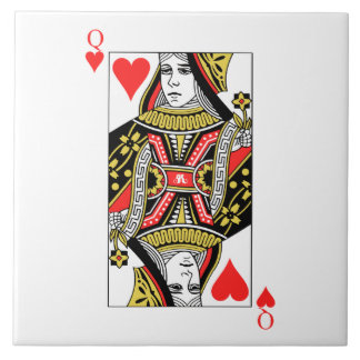 Queen of Hearts Ceramic Tiles