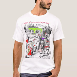 Queen of Hearts colour, T-Shirt