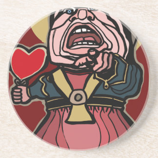 Queen of Hearts Drink Coasters