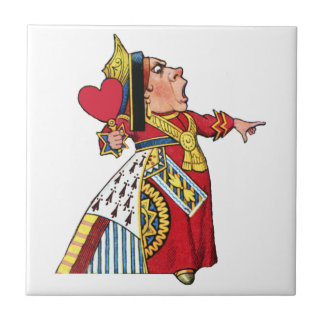 Queen of Hearts from Alice in Wonderland Ceramic Tiles