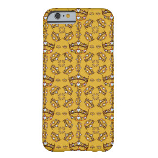 Queen of Hearts gold crowns tiaras gold phone case